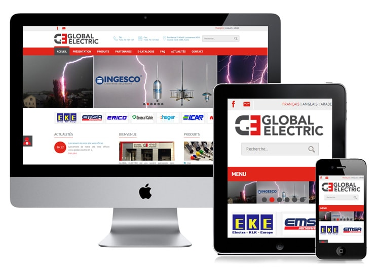 Site web : GLOBAL ELECTRIC